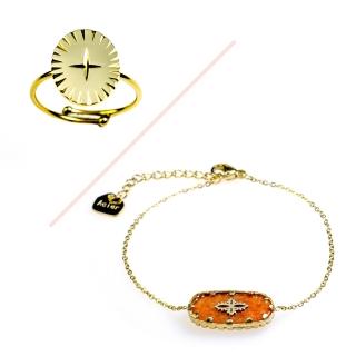 Ensemble bracelet et bague