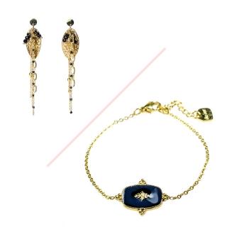 Ensemble bracelet & boucles d'oreilles